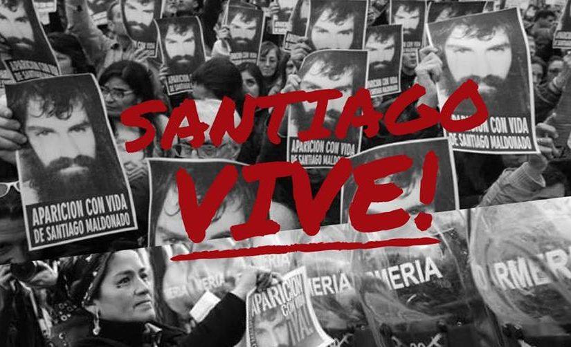 Presidio in solidarietà alla resistenza Mapuche: Santiago Vive!